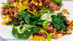 (garydlum) Tags: beef celery cheese cooncheese corn cornedbeef cream spinach worcestershiresauce canberra australiancapitalterritory australia