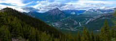 Sulpher Mountain Cosmic Ray Station (Christy Turner Photography) Tags: canada mountains calgary landscape rockies alberta banff calgaryweddingphotographer
