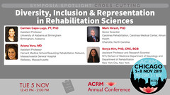 #ACRM2019 Symposia CrossCutting Capo-Lugo #616074 (ACRM-Rehabilitation) Tags: acrm2019 chicago hiltonchicago acrmprogressinrehabilitationresearchconference acrmconference acrm|americancongressofrehabilitationmedicine acrm annualconference interdisciplinary interprofessional symposia crosscutting clinicalpractice continuingeducationcredits cmeceu medicaleducation medicalconference medicalassociation scientificresearch science physiciansandcliniciansnetworkinggroup physicians