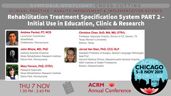 #ACRM2019 Symposia CrossCutting Packel #601015 (ACRM-Rehabilitation) Tags: acrm2019 chicago hiltonchicago acrmprogressinrehabilitationresearchconference acrmconference acrm|americancongressofrehabilitationmedicine acrm annualconference interdisciplinary interprofessional symposia crosscutting clinicalpractice continuingeducationcredits cmeceu medicaleducation medicalconference medicalassociation scientificresearch science physiciansandcliniciansnetworkinggroup physicians