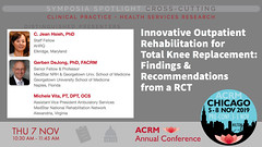 #ACRM2019 Symposia CrossCutting Hsieh #633462 (ACRM-Rehabilitation) Tags: acrm2019 chicago hiltonchicago acrmprogressinrehabilitationresearchconference acrmconference acrm|americancongressofrehabilitationmedicine acrm annualconference interdisciplinary interprofessional symposia crosscutting clinicalpractice continuingeducationcredits cmeceu medicaleducation medicalconference medicalassociation scientificresearch science healthpolicy healthservicesresearch physiciansandcliniciansnetworkinggroup physicians