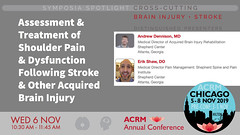 #ACRM2019 Symposia CrossCutting Dennison #599381 (ACRM-Rehabilitation) Tags: acrm2019 chicago hiltonchicago acrmprogressinrehabilitationresearchconference acrmconference acrm|americancongressofrehabilitationmedicine acrm annualconference interdisciplinary interprofessional symposia crosscutting clinicalpractice continuingeducationcredits cmeceu medicaleducation medicalconference medicalassociation scientificresearch science physiciansandcliniciansnetworkinggroup physicians