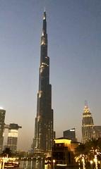 Burj Khalifa (Johnnas13) Tags: trip travel sky sun skyscraper dubai uae dxb burjkhalifa sunset downtown dusk middleeast traveling dubaimall dubaidowntown
