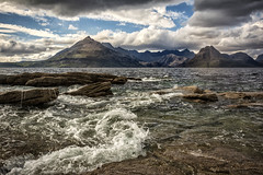 That view (cliveg004) Tags: elgol blackcuillin sgurrnastri sea clouds rocks landscape motion skye scotland innerhebrides anteileansgitheanach isleofskye sgurrnangillean garsbheinn sgurrnaneag mountains seascape wild nikon d5200 island