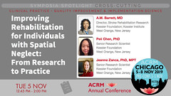 #ACRM2019 Symposia CrossCutting Barrett #585447 (ACRM-Rehabilitation) Tags: acrm2019 chicago hiltonchicago acrmprogressinrehabilitationresearchconference acrmconference acrm|americancongressofrehabilitationmedicine acrm annualconference interdisciplinary interprofessional symposia crosscutting clinicalpractice continuingeducationcredits cmeceu medicaleducation medicalconference medicalassociation scientificresearch science physiciansandcliniciansnetworkinggroup physicians