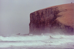 Breakers, Orkney Islands (M McBey) Tags: britain scotland orkney cliff sea storm waves wind