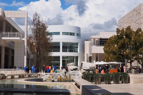 Getty Museum Courtyard