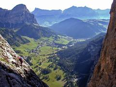 Ferrata Tridentina (Vid Pogacnik) Tags: italy mountain landscape outdoors italia hiking dolomites dolomiti ferrata tridentina sellagroup