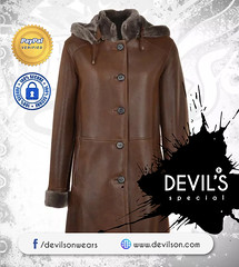 Devilson-Sheepskin-Duffle-Coat (devilsondotcom) Tags: leather coat mens fashion shearling menswear shoponline