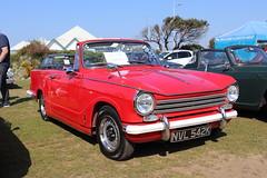 Triumph Herald 13/60 NVL542K (Andrew 2.8i) Tags: classics meet show cars car classic weston westonsupermare british open cabriolet convertible bl britishleyland 1360 herald triumph