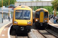 Class Variants at Cradley Heath (The Walsall Spotter) Tags: cradleyheath railway station class172 turbostar 172001 172006 172342 westmidlandsrailway dmu uk multipleunit snowhill line networkrail britishrailways