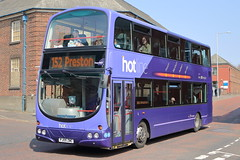 2756 PJ05 ZWC (ANDY'S UK TRANSPORT PAGE) Tags: buses preston hotline transdev lancashireunited