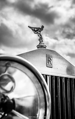 Details (www.ownwayphotography.com) Tags: royce rolls spirit ecstasy rollsroyce white car vintage ornament hood luxury transportation silver transport vehicle chrome automobile engine design emblem auto old symbol style history retro sign black classic british automotive beauty grille