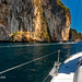 Sailing yacht near Phi Phi islands in our trip from Thailand to Malaysia. Islands, sails, blue water, and full relax        XOKA8421bs2