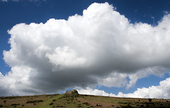 Clouds over Haytor