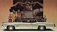 1969 Oldsmobile Delta 88 Royale Holiday Coupe (aldenjewell) Tags: 1969 oldsmobile delta 88 royale holiday coupe olds postcard