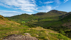 A lovely day for hike. (Ian Emerson (Thanks for all the comments and faves) Tags: landscape langdale lakedistrict cumbriaoutdoors cumbria england photography landscapephotography canon6d 24105 outdoor summerholiday fells hills rocks clouds canon hiking gobe