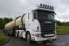 Add Watermark20190622093824 (richellis1978) Tags: truck lorry haulage transport logistics cannock tanker scania r cn54rnv larkins r420