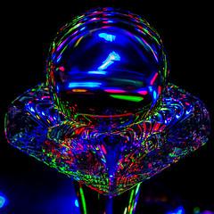 Fairy crystal ball (Stefan Marks) Tags: abstract indoor lightpainting aucklandwaitakere northisland newzealand