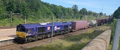 DB 66109 (22/06/2019) (CYule Buses) Tags: 66109 db eastcoastmainline class66 royalborderbridge