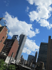 2019 June Clouds and Virtual Clock Tower Turned On 2025 (Brechtbug) Tags: 2019 april clouds virtual clock tower turned from hells kitchen clinton near times square broadway nyc 06212019 new york city midtown manhattan spring springtime weather building dark low hanging cumulonimbus cumulus nimbus cloud hell s nemo southern view