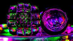 Refraction Study (Stefan Marks) Tags: abstract indoor lightpainting aucklandwaitakere northisland newzealand