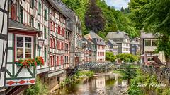 Monschau, North Rhine-Westphalia Germany (Peter Beljaards) Tags: flickrexploreme monschau northeifel northrhinewestphalia germany valley rur historic eifel duitsland städteregionaachen