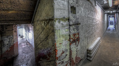 Private collection in former WW2 underground bunker complex  (19) (pe0s, Steven) Tags: weapons weapon wapens wapen collectie munitiedepot munitie arsenaal urbex 8mm fisheye hdr munition ammunition ammo bunker armory collection helder den atlantic wall atlanticwall abandoned bunkers pe0s ww2 war worldwar two apocalypse apocalyptic hrd kijkduin fort fortress dunes dune napoleon underground hidden casemate cannon