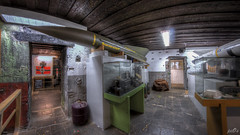 Private collection in former WW2 underground bunker complex  (3) (pe0s, Steven) Tags: weapons weapon wapens wapen collectie munitiedepot munitie arsenaal urbex 8mm fisheye hdr munition ammunition ammo bunker armory collection helder den dirksz atlantic wall atlanticwall abandoned bunkers pe0s ww2 war worldwar two apocalypse apocalyptic hrd kijkduin fort fortress dunes dune napoleon underground hidden casemate cannon