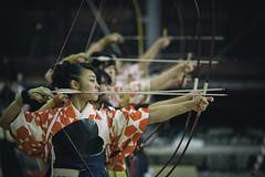 Kyūdō 弓道 - Japanese archery (小川 Ogawasan) Tags: japan japon kyudo kyoto kyūdō 弓道 japanesearchery