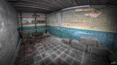 Private collection in former WW2 underground bunker complex  (15) (pe0s, Steven) Tags: weapons weapon wapens wapen collectie munitiedepot munitie arsenaal urbex 8mm fisheye hdr munition ammunition ammo bunker armory collection helder den atlantic wall atlanticwall abandoned bunkers pe0s ww2 war worldwar two apocalypse apocalyptic hrd kijkduin fort fortress dunes dune napoleon underground hidden casemate cannon
