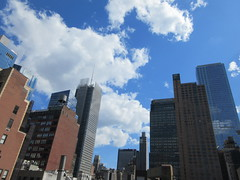 2019 June Clouds and Virtual Clock Tower Turned On 2018 (Brechtbug) Tags: 2019 april clouds virtual clock tower turned from hells kitchen clinton near times square broadway nyc 06212019 new york city midtown manhattan spring springtime weather building dark low hanging cumulonimbus cumulus nimbus cloud hell s nemo southern view