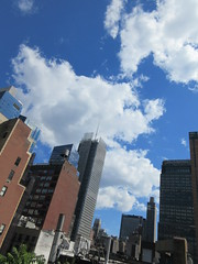 2019 June Clouds and Virtual Clock Tower Turned On 2016 (Brechtbug) Tags: 2019 april clouds virtual clock tower turned from hells kitchen clinton near times square broadway nyc 06212019 new york city midtown manhattan spring springtime weather building dark low hanging cumulonimbus cumulus nimbus cloud hell s nemo southern view