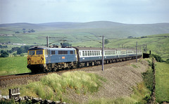 Photo of BR Blue Era 87 At Greenholme.