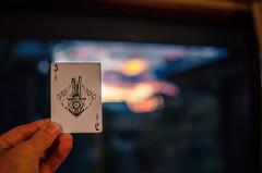 Solstice-ish joker (Occasionally Focused) Tags: joker pentax card sigma30mmf14exdchsm sigma singleinjune2019 affinityphoto lightroom lightroommobile playingcard k30 märchen
