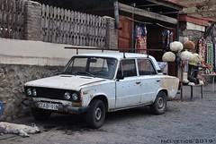 Lada 2106 - Georgia (Helvetics_VS) Tags: licenseplate georgia oldcars lada 2106