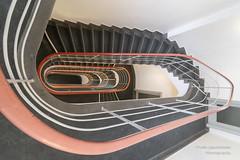 TU Berlin Treppe (Frank Guschmann) Tags: stairs steps stairwell treppe staircase stufen strassedes17juni treppenhaus tuberlin nikon architektur d500 escaliers nikond500 frankguschmann