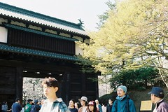 The second gate (しまむー) Tags: pentax mz3 fa 43mm f19 limited kodak gold 200 弘前城 桜祭り