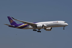 Thai Airways Airbus A350-941 HS-THJ Pho Sai  โพธิ์ไทร (EK056) Tags: thai airways airbus a350941 hsthj pho sai โพธิ์ไทร bangkok suvarnabhumi airport