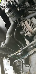 New power steering return hose (pepez@flickr) Tags: bmw e39 power steering hose repairs