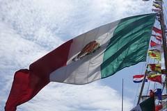 Mexicaanse vlag (Gerard Stolk ( vers le debut duTour)) Tags: libertytallshipsregatta tallships scheveningen denhaag thehague lahaye haag