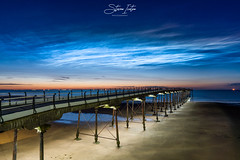 'Night shining' Noctilucent Clouds (steveniceton.co.uk) Tags: noctilucentclouds nightshiningclouds astrophotography