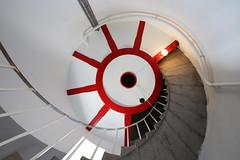 Slettehage Fyr (Elbmaedchen) Tags: slettehagefyr leuchtturm lighthouse balticsea ostsee helgenaes halbinsel djursland staircase stairwell treppe escaliers leuchtturmtreppe upanddownstairs spiral spirale