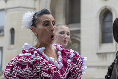 Oh! (Xtian du Gard) Tags: xtiandugard nîmes portrait femme woman streetview gard france tradition humour emotions
