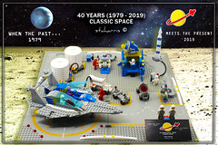 40 years of Classic Space 1/5 (staharris) Tags: staharris legoclassicspace moc greece gricksgr afolgreece 40years lego space spacebase