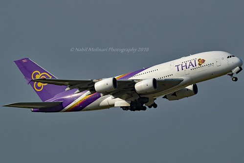 """Chaiya / ไชยา"" Thai Airways International HS-TUC Airbus A380-841 cn/100 @ EDDF / FRA 08-10-2018"