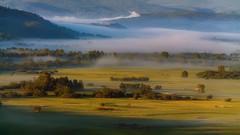Туманные реки (ЛеонидМаксименко) Tags: туман утро рассвет урал уральскийокоём россия уральскиегоры fog sunrise