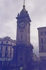 Clock Tower (andy broomfield) Tags: film filmisnotdead filmphotography 35mm dubblefilm colourfilm c41 dubblefilmapollo brighton brightonhove clocktower