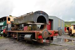 Unidentified Barclay under repair 13 September 2015 (davids pix) Tags: barclay saddle tank pontypool blaenavon railway furnace sidings preserved restoration unidentified 2015 13092015