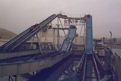 Brighton Palace Pier (andy broomfield) Tags: film filmisnotdead filmphotography 35mm dubblefilm colourfilm c41 dubblefilmapollo brighton brightonhove pier brightonpier brightonpalacepier ride fairgroundride funfairride logflume